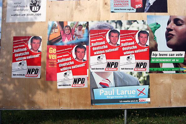 berlin npd plakate